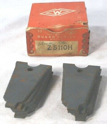 Vtg Whitaker Mfg Sickle Bar Mower Guard Plates Blade Sections Z5110h Oliver Box