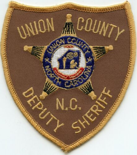 UNION COUNTY NORTH CAROLINA NC DEPUTY SHERIFF POLICE PATCH
