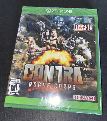 Contra Rogue Corps (Microsoft Xbox One, XB1) Brand New & Sealed