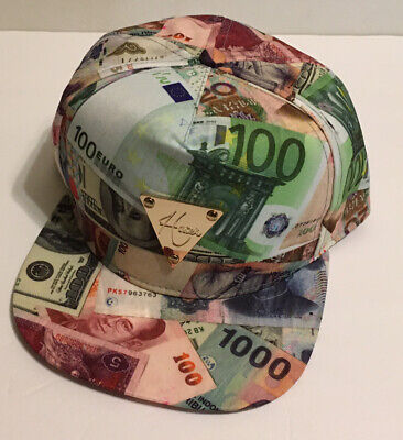 Hater Snapback Hat International Money Bill,the most wanted.