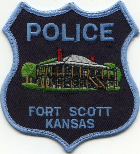 FORT SCOTT KANSAS KS used POLICE PATCH