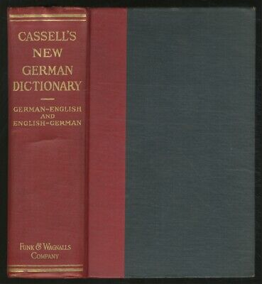 Karl BREUL / New German and English Dictionary Compiled from the Best 1st (The Best German Dictionary)