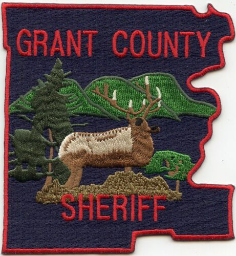 GRANT COUNTY OREGON OR SHERIFF POLICE PATCH