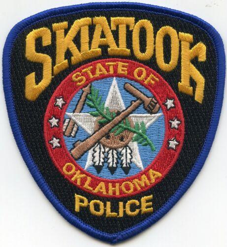 SKIATOOK OKLAHOMA OK POLICE PATCH