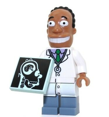 Dr Hibbert Simpsons minifigure with Stand Series 2 LEGO 71009 homer