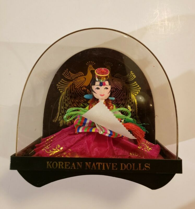 Korean Native Doll In Case