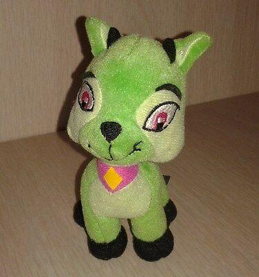 2004 Neopets Plush Green  LXI Mcdonalds Animal stuffed toy
