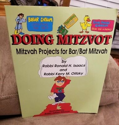 DOING MITZVOT: MITZVAH PROJECTS FOR BAR/BAT MITZVAH By Kerry M. Oliyzky  - Bar Mitzvot