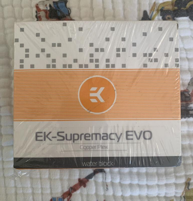 EKWB EK-Supremacy EVO CPU Waterblock kit Copper/Plexi