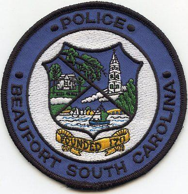 BEAUFORT SOUTH CAROLINA SC POLICE PATCH