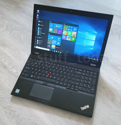 Lenovo ThinkPad P50 workstation, i7-6820HQ, 8GB/256SSD, Quadro M1000M -S83U