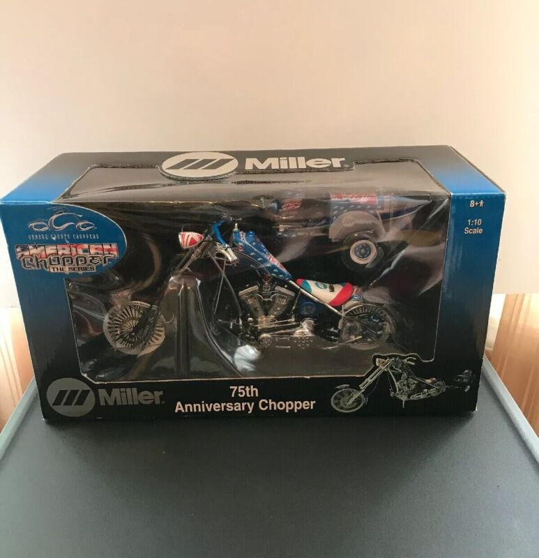 MILLER Orange County American Chopper The Series 75th Anniversary Chopper 1:10