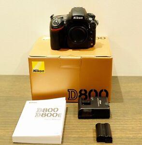 Nikon D800 SLR Camera Body Box Hill Whitehorse Area Preview