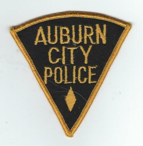 VINTAGE AUBURN CITY, ILLINOIS POLICE (CHEESE CLOTH BACK) patch