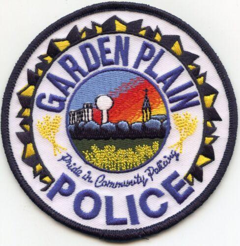 GARDEN PLAIN KANSAS KS POLICE PATCH