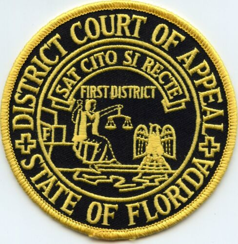 FLORIDA STATE COURT OF APPEAL Court of Appeals POLICE PATCH