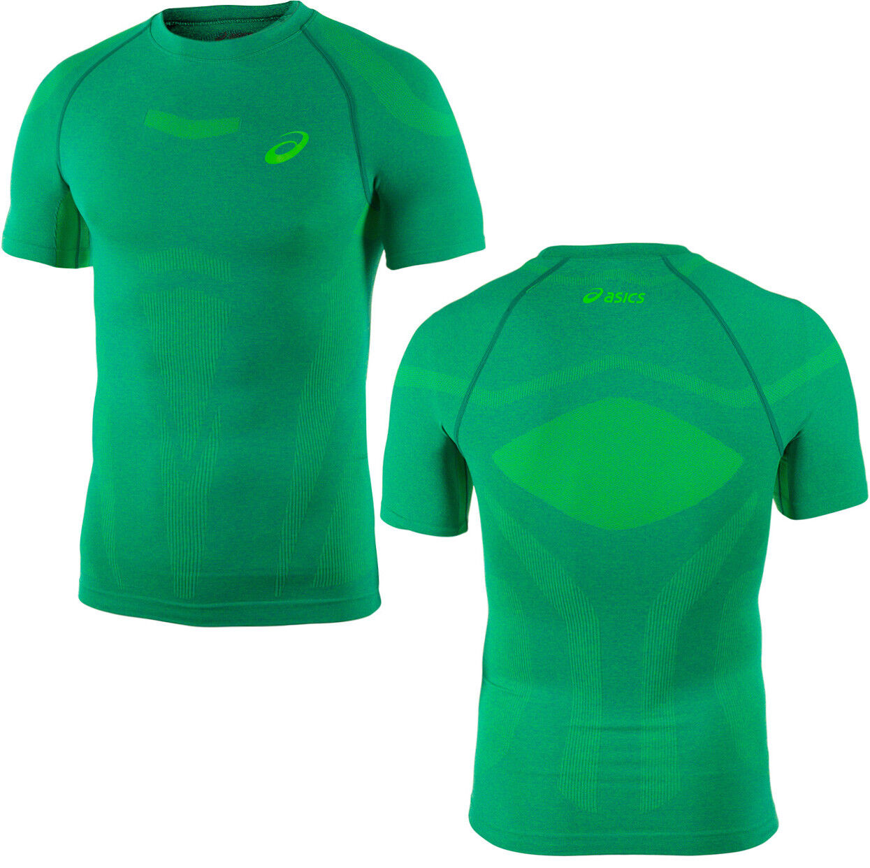 ead9cb2c Details about Asics Motion Muscle Support Short Sleeve Mens Compression Top  121087 0496 R14D