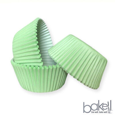25 PC Easter Rabbit Pastel Mint Green Print Cupcake Liners Bakell Baking Tools - Mint Green Cupcake Liners