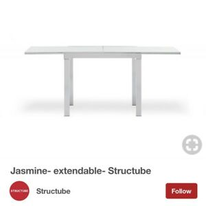 Structube Dining Table Extendable