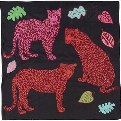 KAREN MABON Cheetahs  Large Silk Scarf BNWT