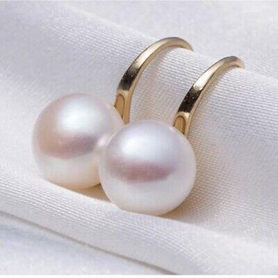 J Crew Freshpearl Gold Plated Drop Pierced Earrings