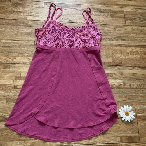 Ivivva By Lululemon Pink Tank Top Size 14