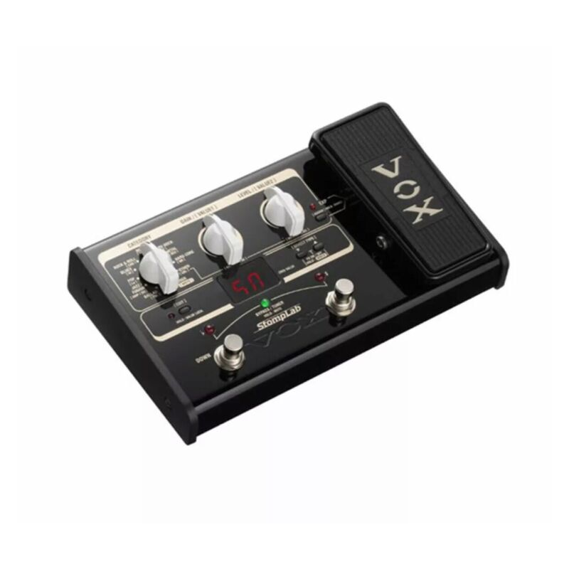 VOX SL2G StompLab IIG Guitar Effect Pedal - NO Power Adapter Or Manual- WORKS!