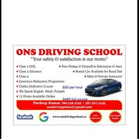 Driving School-instructor, certified, Save Big on Insurance