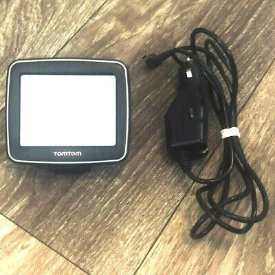 "TomTom EASE Model 1EX00 3.5"" Black Automotive Mountable With Car Charger Works"
