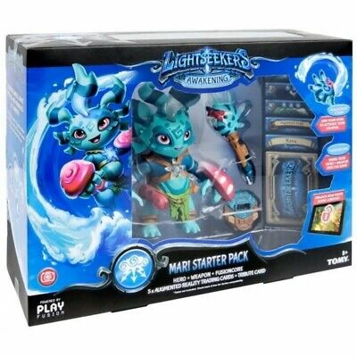 Lightseekers Starter Pack, Mari Play Fusion Hero Weapon Fusion Core Toy Collect