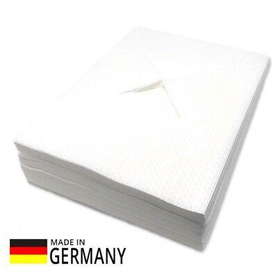 Massageliegen-Gesichtsauflagen Airlaid Nasenschlitztücher 100 Stück Auflage