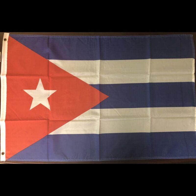2 x 3 Cuban Flag New Bandera Cubana