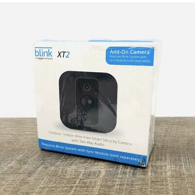 Blink XT2 Add-On Indoor/Outdoor Wi-Fi Wire Free 1080p Security Camera - Black