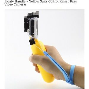 Yellow Floaty Handle for GoPro Kedron Brisbane North East Preview
