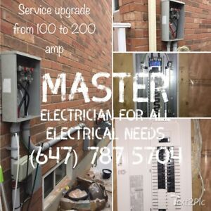 Electrical panel upgrade By Master Electrician