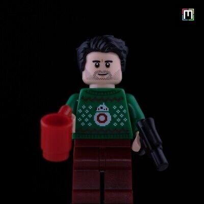 BRAND NEW LEGO Poe Dameron With Ugly Sweater Minifigure (75279) Advent Calendar!