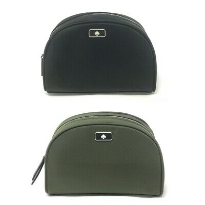 Kate Spade Medium Dome Dawn Cosmetic Bag Case Clutch Nylon WLRU5624 $79