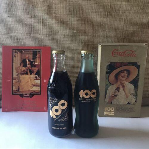 Coca Cola Centennial Anniversary Frosty Bottle Japan RARE
