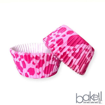 25 PC Pink Cow Animal Print Cupcake Liners - Baking & Caking Tools from - Cow Cupcake Liners