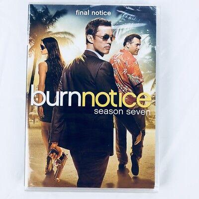 Burn Notice Season 7 on DVD - The Final Notice