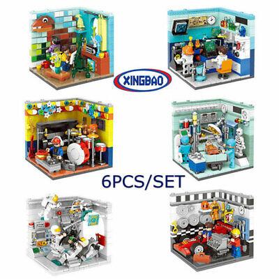 e Träumer 6PCS Modell xingbao Figur Baukästen Geschenk (Baukasten Spielzeug)
