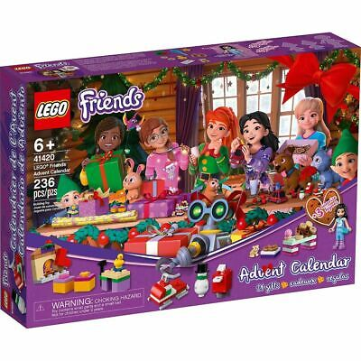 2020 LEGO Friends Advent Calendar New Sealed! 236pcs 41420 Friends 6+ In Hand