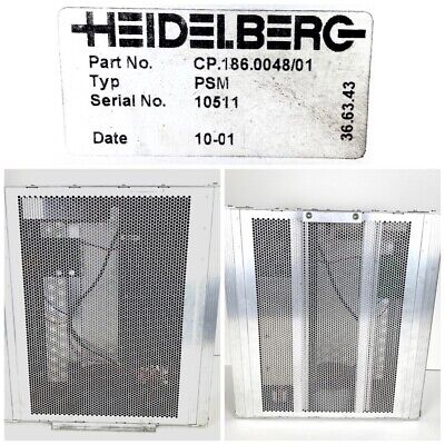 Heidelberg Psm Cp.186.004801 Printing Press 9808