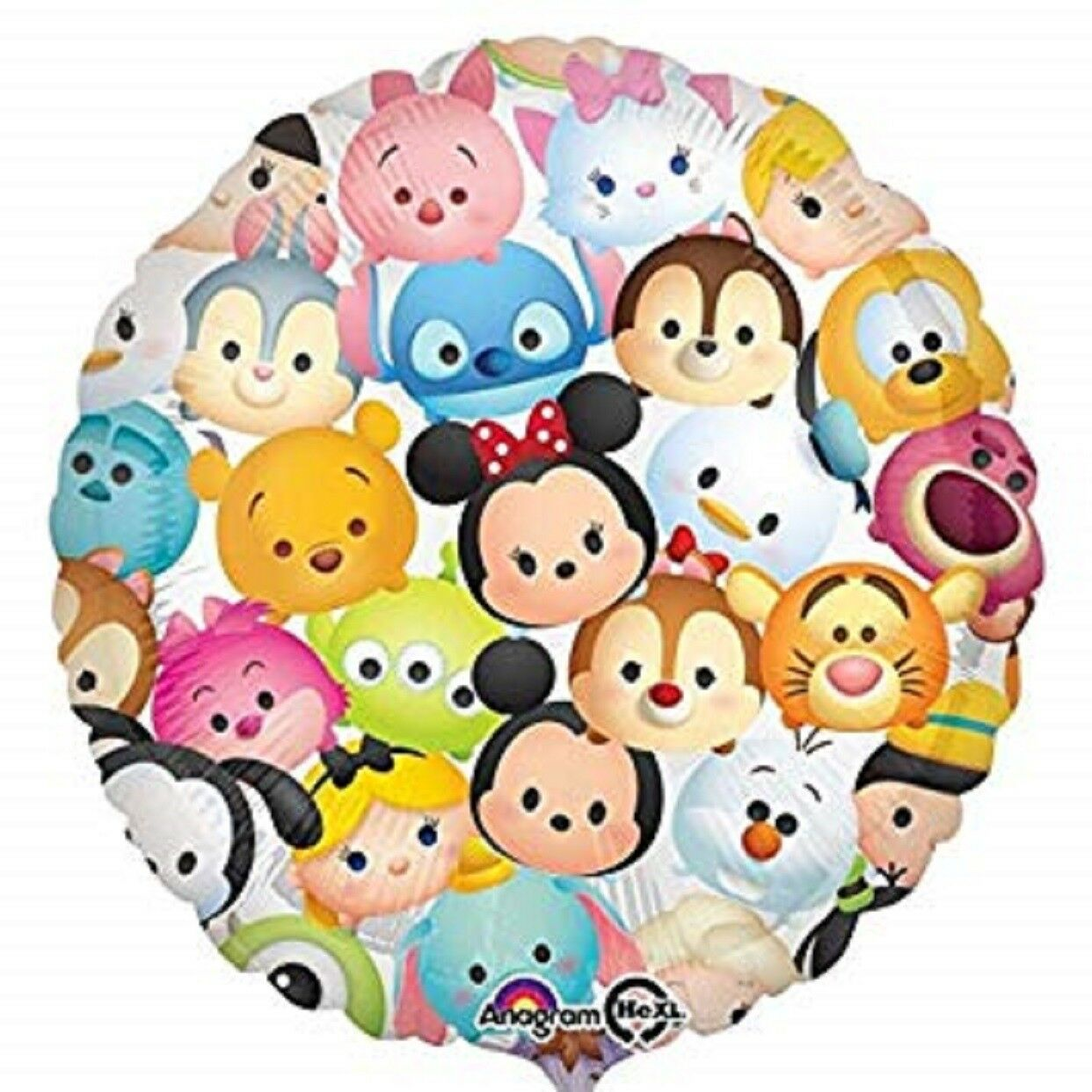 "Tsum Tsum Disney Cute Official Foil Balloon 18"" Anagram New"