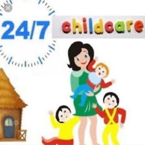 Home daycare 24/7 , loving and caring environment