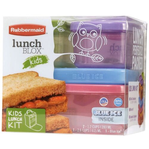 Rubbermaid LunchBlox Kids Lunch Box and Food Prep Containers
