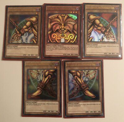 Exodia The Forbidden One - FULL set - YGLD - Ultra - Unlimited - NM -Yugioh Card