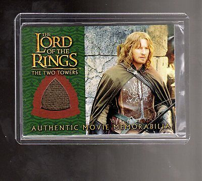 LOTR Two Towers Faramir Ranger Outfit costume card