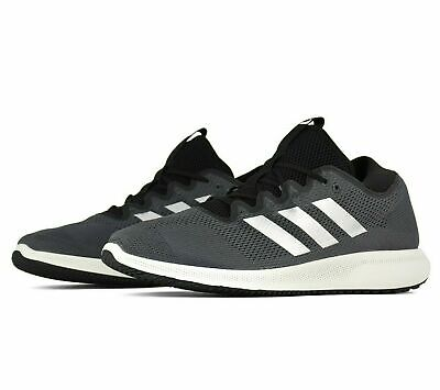 NEW ADIDAS EDGE FLEX M MEN'S  RUNNING SHOES G28449 GREY/SILVER/BLACK SIZE 11