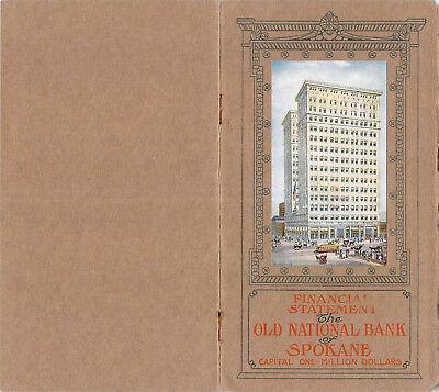 1910 Old National Spokane Washington Twohy Merchant Bank Banking Finance